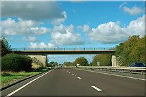 SE4383 : A19 - Stoneybrough Lane bridge by Robin Webster