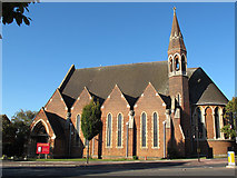 TQ4275 : St Barnabas church, Eltham by Stephen Craven