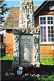 SP4476 : Obelisk war memorial, School Street, Church Lawford by Jean Nicholson