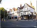 TQ4274 : Eltham shops (3) - Sherard Mansions by Stephen Craven