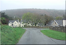 SN0038 : Un-named road junction at Dinas Cross by Stuart Logan