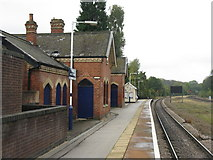 SK3281 : Dore and Totley Station - 2011 by M J Richardson
