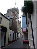 HU4741 : Lerwick: the Grand Hotel from the south by Chris Downer