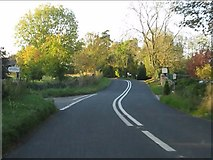 SP1726 : B4077 at the junction for Lower Swell by Peter Whatley