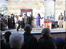 SE7984 : Entertainers, Pickering Station by Pauline E