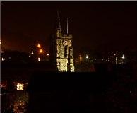SE0125 : St Michaels Church Mytholmroyd by David Clark