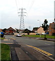 ST3258 : Electricity pylon on the corner of Loxton Road and Westbury Crescent, Weston-super-Mare by Jaggery