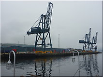 NS2776 : Doon The Watter - 25th June 2011 : Clydeport Container Terminal, Greenock by Richard West