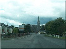 N5580 : Oldcastle's Catholic Church from the Kells Road by Eric Jones