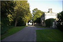 SE2768 : Road between Fountains Hall and the Abbey by Alexander P Kapp
