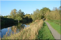 SK5907 : Grand Union Canal/ River Soar by Ashley Dace