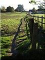 TQ2853 : Pilgrims' Way approaching Merstham by Derek Harper