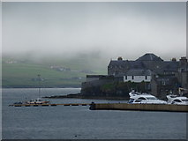 HU4741 : Lerwick: across the harbour from the Bressay ferry by Chris Downer