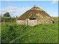 NY8298 : Woolaw roundhouse at 'Brigantium' by M J Richardson