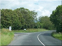N6077 : Junction of the road from Loughcrew with the R154 (Oldcastle/Kells Road) by Eric Jones