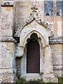 SU0826 : Church of St John the Baptist- priest's door by Jonathan Kington
