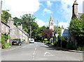 NN8823 : A822 at Gilmerton, Perthshire by nick macneill