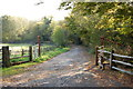 TQ6013 : Entrance to Jarvis Wood by Julian P Guffogg