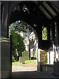 SK2381 : Hathersage Church by Dave Pickersgill
