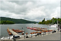 SD4096 : Lake Windermere from Bowness Promenade by Rose and Trev Clough