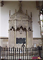 TF3287 : Memorial to William Allison, St James' Church, Louth by J.Hannan-Briggs