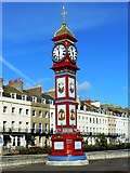 SY6879 : The Jubilee Clock, The Esplanade, Weymouth by Brian Robert Marshall