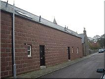NO8785 : Buildings in Arbuthnott Street, Stonehaven by Stanley Howe