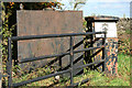 SK1576 : Old fuel pump and gate by David Lally