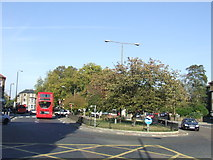 TQ4077 : One-way system at Blackheath Royal Standard by Malc McDonald