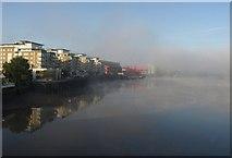 TQ2575 : Thames at Riverside West by Derek Harper
