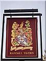 TQ3763 : Randall Tavern, Pub Sign (2), New Addington by David Anstiss