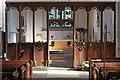 TL7164 : All Saints, Gazeley - Chancel screen by John Salmon