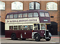 SK2423 : Brewery Museum Bus, Burton-upon-Trent by Roger  Kidd