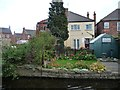 SK7080 : Someone on Osberton Road likes living by the canal by Christine Johnstone
