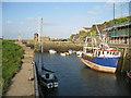 SH4493 : Amlwch Harbour by Bob Jones