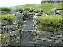 HU3909 : Jarlshof - Bronze Age dwellings by Rob Farrow