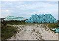 SU0726 : Silage bales by Jonathan Kington