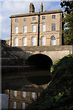 ST7565 : House above Kennet and Avon Canal by Philip Halling