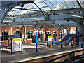 NZ3571 : Whitley Bay - Station (platform 1) by Dave Bevis
