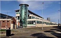 J3474 : Lanyon Quay, Belfast (3) by Albert Bridge