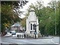 SK5878 : Worksop War Memorial by Christine Johnstone