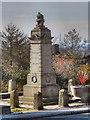 SD9605 : Austerlands War Memorial by David Dixon
