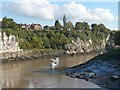 ST5394 : The River Wye, Chepstow by Robin Drayton