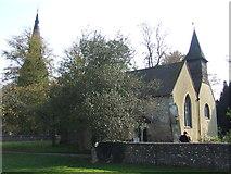 TQ3355 : Church spires, Caterham by Malc McDonald