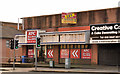 "J3773 : Former ""KFC"", Belfast by Albert Bridge"