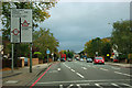 TQ4168 : A21 approaching central Bromley by Robin Webster