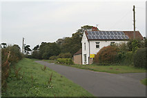 SK5853 : Rigg Lane by Alan Murray-Rust