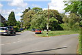 TQ1428 : Christ's Hospital Rd, King Edward Rd junction by N Chadwick