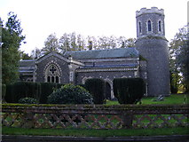 TM1476 : St.Mary Church, Brome by Adrian Cable