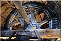 SK3650 : Heage Windmill - Brake Wheel by Ashley Dace